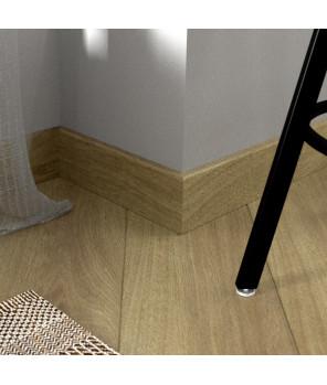Плинтус Fine Floor, FF-1508/1408 Плинтус Дуб Квебек