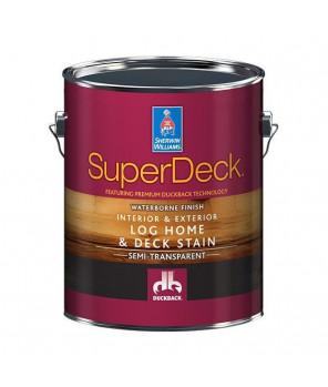 Пропитка для деревянных фасадов, SuperDeck Log Home&Deck Stain пропитка галлон