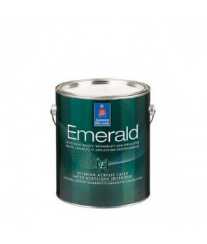 Антивандальная краска для стен и влажных помещений, Emerald Interior Satin кварта (0,95л)