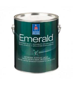 Износостойкая краска для стен и влажных помещений, Emerald Interior Satin, галлон (3,8л)