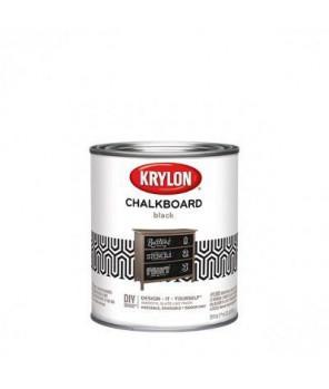Краска с эффектом грифельной (школьной) доски, Krylon Chalkboard Paint кварта (0,95л)