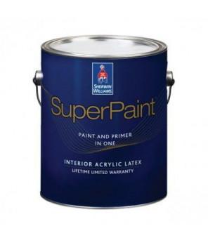 Суперматовая интерьерная краска для стен, Super Paint Flat галлон (3,8л)