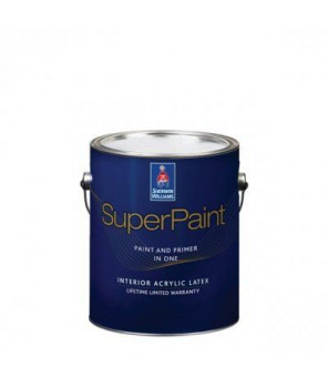 Суперматовая интерьерная краска для стен, Super Paint Flat кварта (0,95 л)