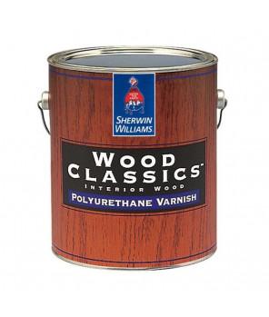 Полуматовый полиуретановый лак для дерева, Wood Classic Polyuretane Varnish Satin лак сатин галлон