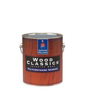 Полуматовый полиуретановый лак для дерева, Wood Classic Polyuretane Varnish Satin лак сатин кварта