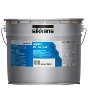 Глубокоматовая грунтовочная краска (Грунт-Покрытие) для стен и потолков, Alpha BL Grond