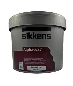 Матовая мелкозернистая текстурированная фасадная краска, Alphacoat