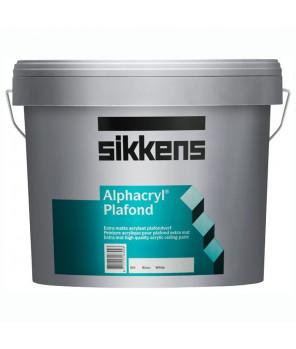 Глубокоматовая краска для потолков, Alphacryl Plafond