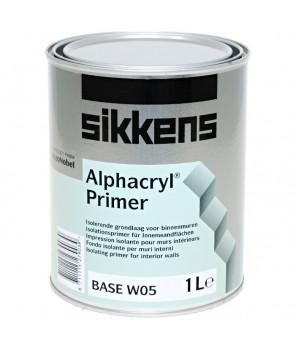 Полуматовая изолирующая грунтовка (грунтовочная краска) для стен и потолков, Alphacryl Primer