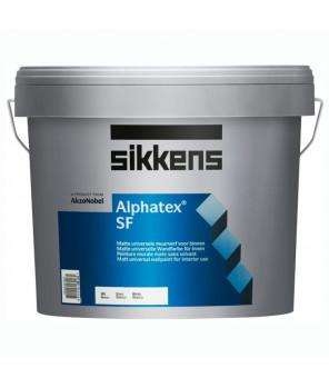 Глубокоматовая краска для стен и потолков, Alphatex SF